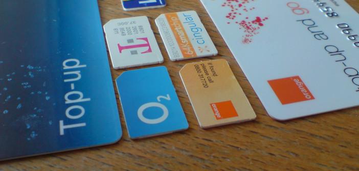 Cartes SIM à Londres