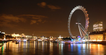 The London Eye at night © CC Denis Duchesne / Flickr