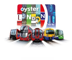 TFL Visitor Oyster Card